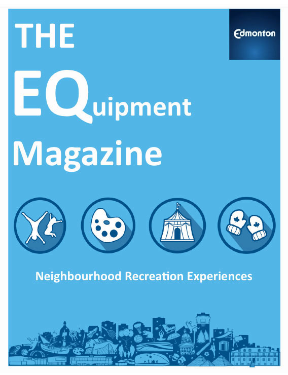 equipment magazine cover page