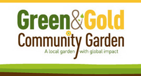 Green & Gold Garden Logo