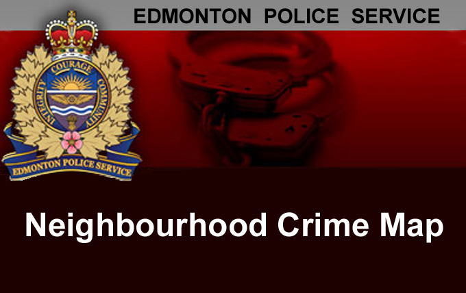 Link to Edmonton Police Neighbourhood Crime Map
