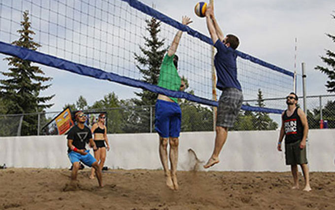 Beach Volleyball free court use for LCL Members